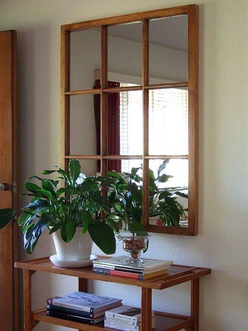 Best 25+ Window Pane Mirror Ideas On Pinterest | Windows Decor Regarding Window Mirrors (#11 of 30)