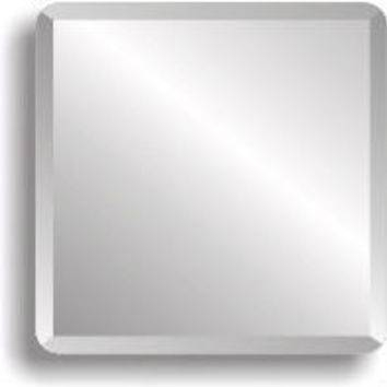 Best Beveled Edge Mirror Products On Wanelo Pertaining To Square Frameless Mirrors (#7 of 30)