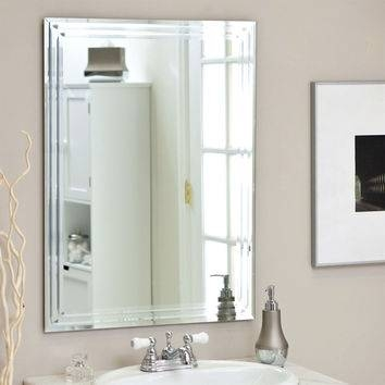 Inspiration about Best Beveled Wall Mirrors Products On Wanelo With Regard To Bevelled Bathroom Mirrors (#4 of 20)
