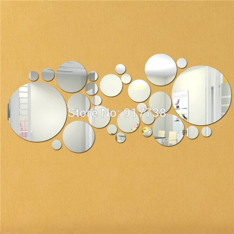 Best Circle Mirror Wall Decor Pictures – Home Design Ideas Pertaining To Mirrors Circles For Walls (#13 of 30)
