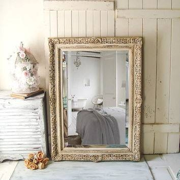 Best Large Ornate Mirrors Products On Wanelo For Large Cream Mirrors (#17 of 30)