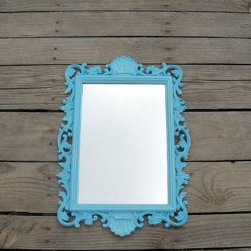 Best Large Ornate Mirrors Products On Wanelo Intended For Blue Distressed Mirrors (#21 of 30)