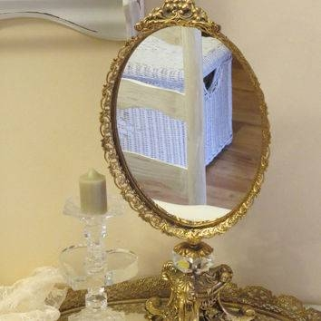 Best Shabby Chic Vanity Products On Wanelo Regarding Gold Shabby Chic Mirrors (#9 of 15)