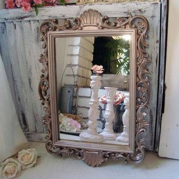 Best Shabby Chic Vintage Mirror Products On Wanelo Intended For Shabby Chic Gold Mirrors (#27 of 30)