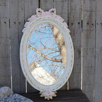 Best Shabby Chic Vintage Mirror Products On Wanelo Within Gold Shabby Chic Mirrors (#11 of 15)