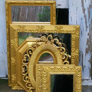 Best Shabby Chic Wall Mirrors Products On Wanelo Intended For Shabby Chic Gold Mirrors (#28 of 30)