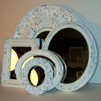 Best Shabby Chic Wall Mirrors Products On Wanelo Throughout White Shabby Chic Wall Mirrors (#16 of 20)