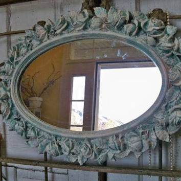 Best Shabby Chic Wall Mirrors Products On Wanelo Within Blue Distressed Mirrors (#22 of 30)