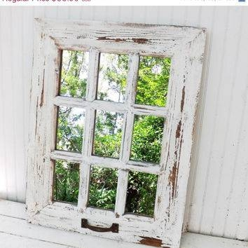 Best Shabby Chic Wall Mirrors Products On Wanelo Within Shabby Chic Window Mirrors (View 4 of 20)