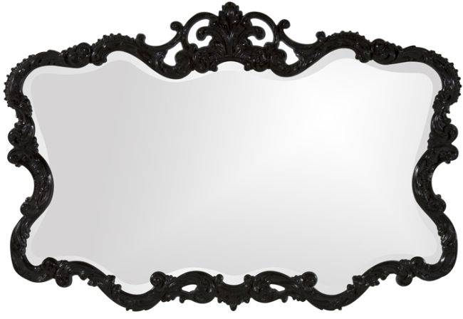 Best Vintage Mirrors To Look For For Large Black Vintage Mirrors (#19 of 30)