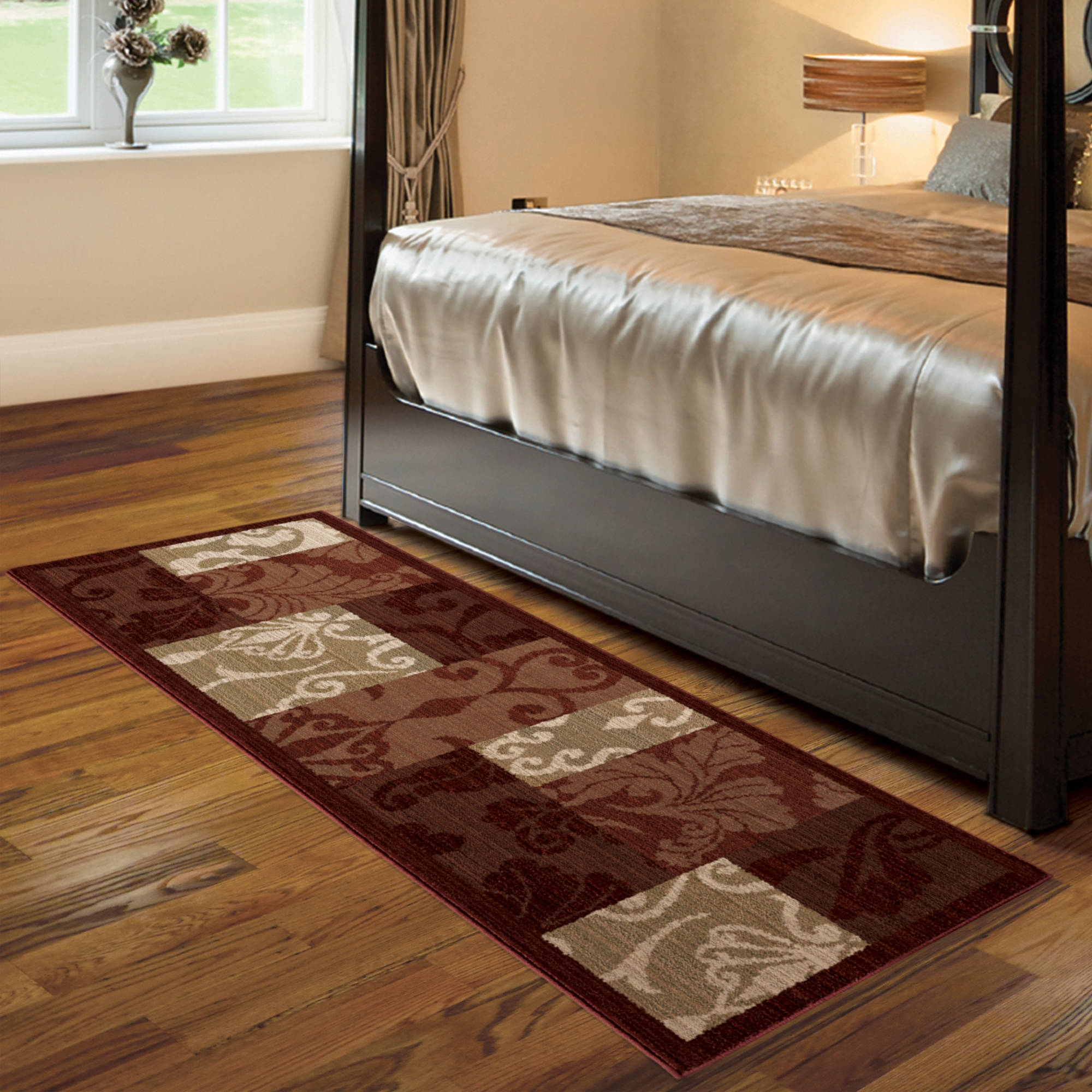 Better Homes And Gardens Scroll Patchwork Area Rug Or Runner In Runner Rugs For Hallway (#7 of 20)