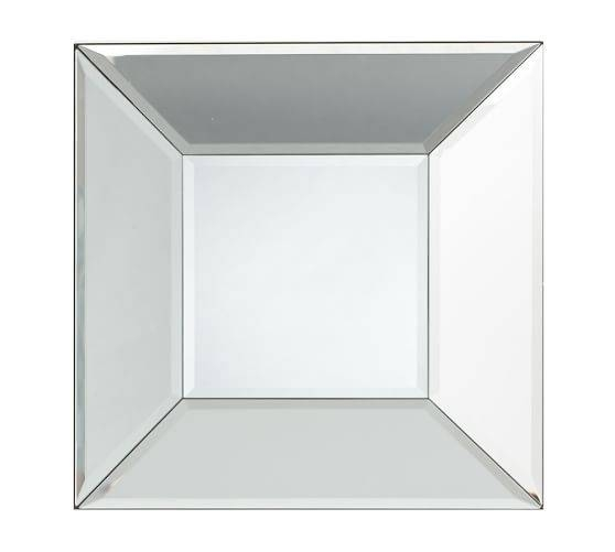 Popular Photo of Square Bevelled Mirrors