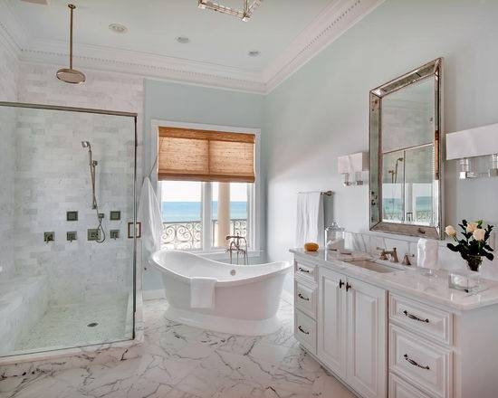 Beveled Bathroom Mirror | Houzz Regarding Bevelled Bathroom Mirrors (#10 of 20)