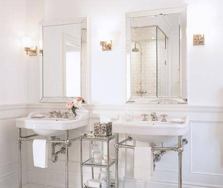 Beveled Mirrors Design Ideas In Bevelled Bathroom Mirrors (#12 of 20)