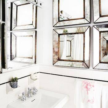 Beveled Mirrors Design Ideas In Square Bevelled Mirrors (#8 of 15)