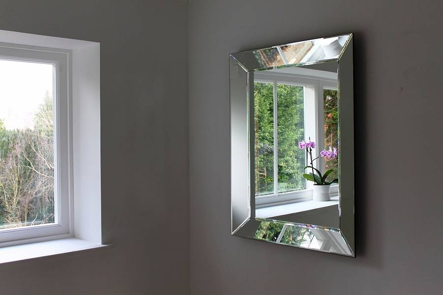 Bevelled Mirror As Indoor Decorative Touch | Lgilab | Modern For Venetian Bevelled Mirrors (#12 of 20)
