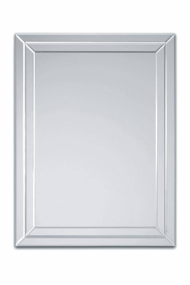 Bevelled Mirror As Indoor Decorative Touch | Lgilab | Modern Throughout Bevelled Wall Mirrors (#5 of 20)