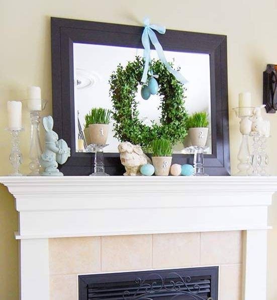 Bhg Centsational Style With Large Mantel Mirrors (#16 of 30)