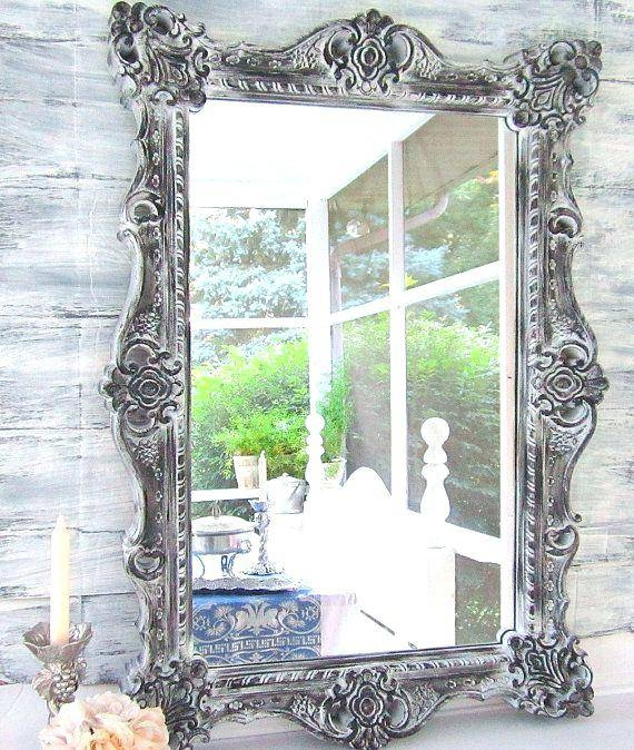Big Fancy Mirror – Shopwiz Regarding Large Vintage Mirrors (#14 of 20)