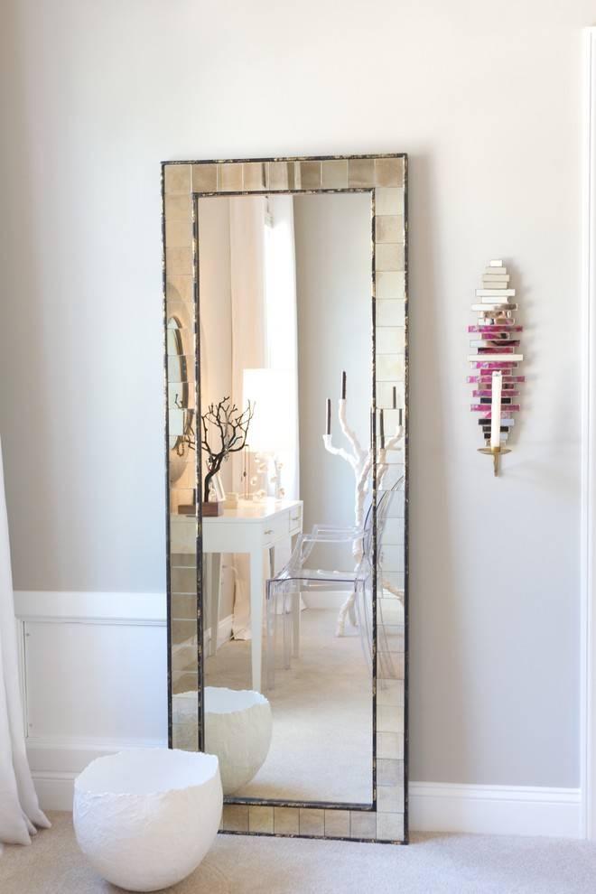 Big Floor Mirrors. Diy Floor Mirror (#19 of 30)