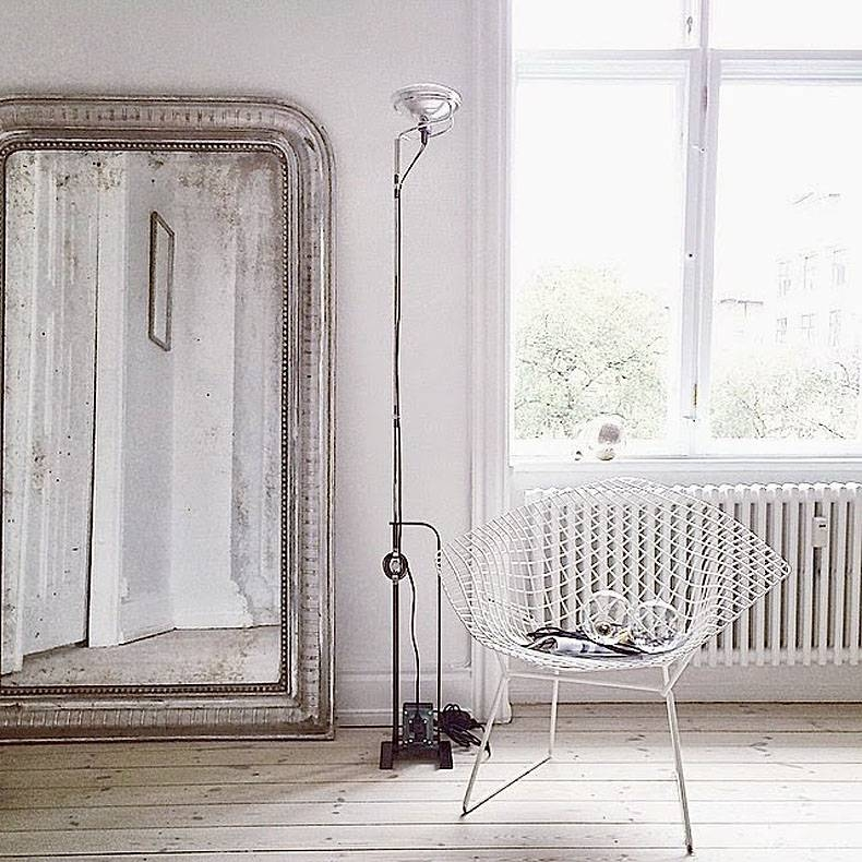 Big Leaning Mirrors Expand The View – Improvised Life Intended For Big Mirrors (View 20 of 30)
