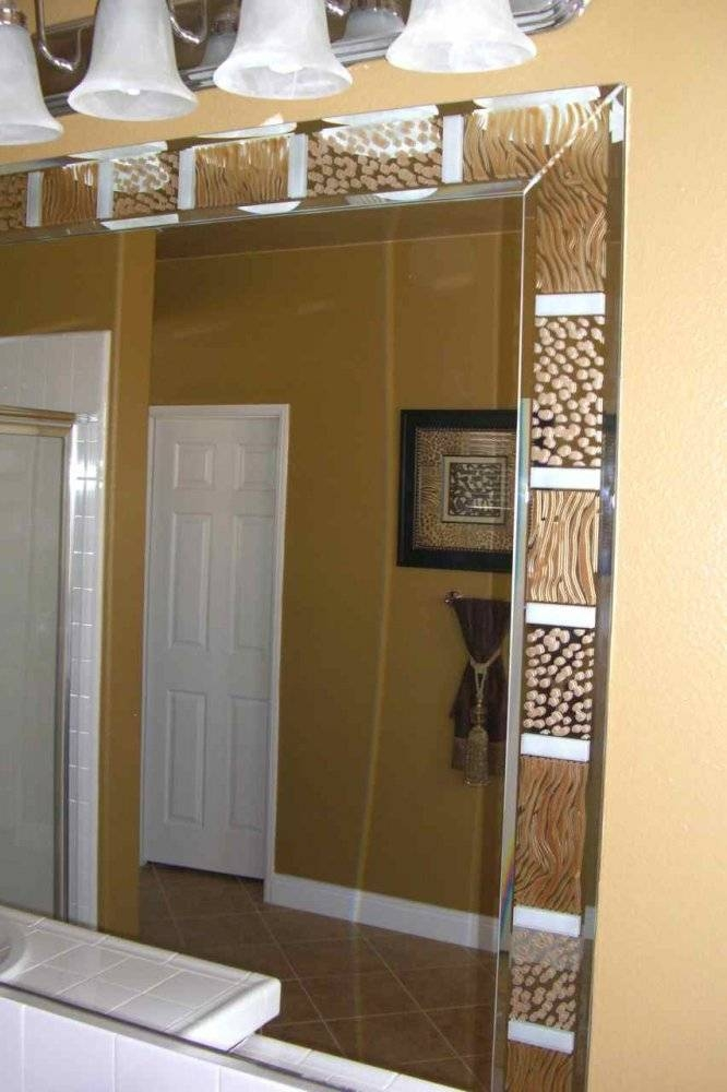 Big Mirrors For Bathrooms – Home Design Ideas And Pictures With Large Brown Mirrors (#25 of 30)