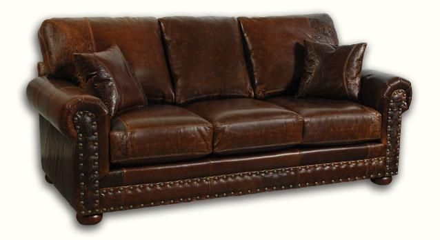 Big Sky Collection Outlaw Sofa In Full Grain Leather Sofas (View 12 of 15)