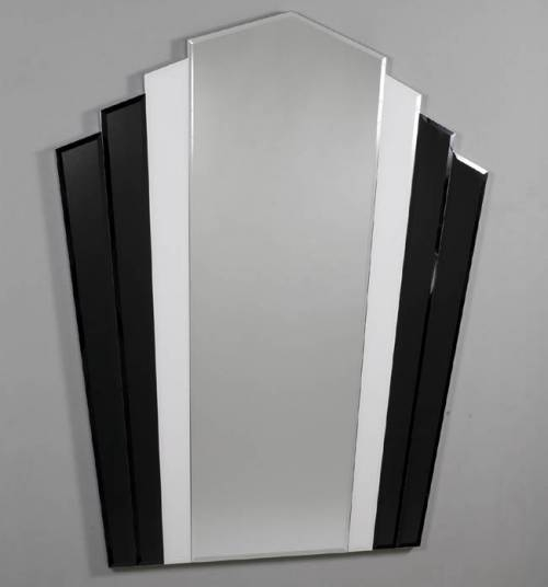 Black And White Mirrors For Bathroom Intended For Black Mosaic Mirrors (#8 of 30)