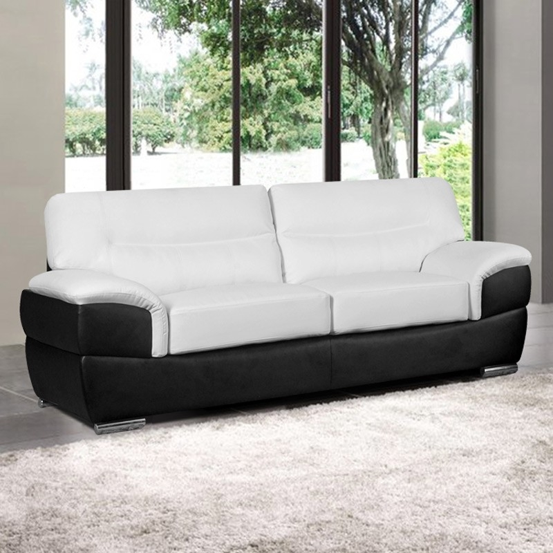Black And White Sofa Intended For White And Black Sofas (#8 of 15)