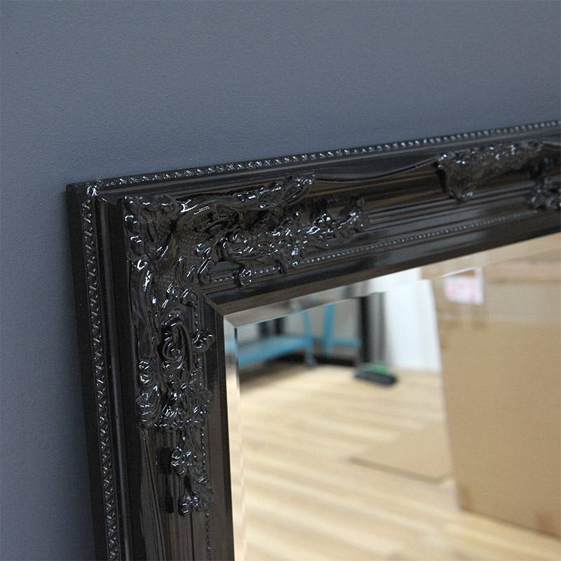 Black Antique Mirror – Home & Abode Inside Black Antique Mirrors (#18 of 30)