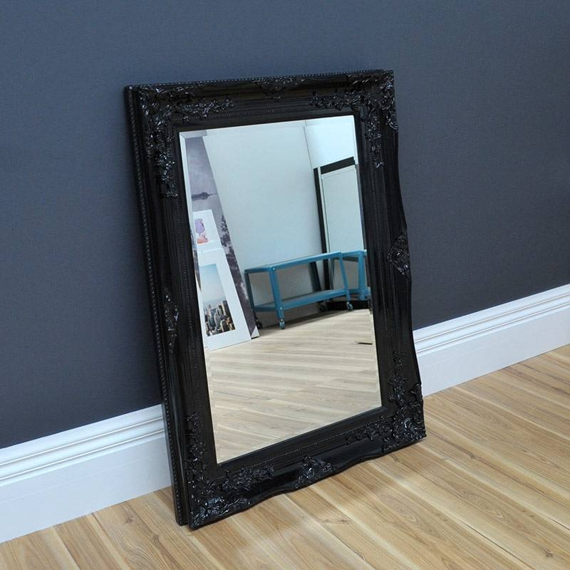 Black Antique Mirror – Home & Abode Pertaining To Black Antique Mirrors (#19 of 30)
