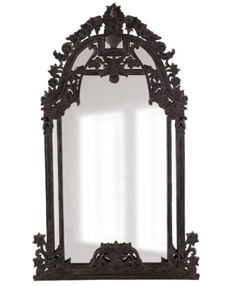 Black Baroque Mirror Regarding Baroque Black Mirrors (#11 of 20)