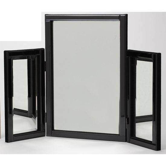 Black Dressing Table Mirror 11806 Furniture In Fashion Regarding Free Standing Dressing Table Mirrors (#11 of 30)