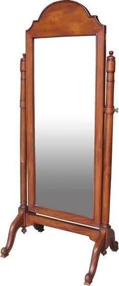 Black * Full Length Free Standing Oval Dressing/bedroom Mirror Within Cheval Freestanding Mirrors (#16 of 30)