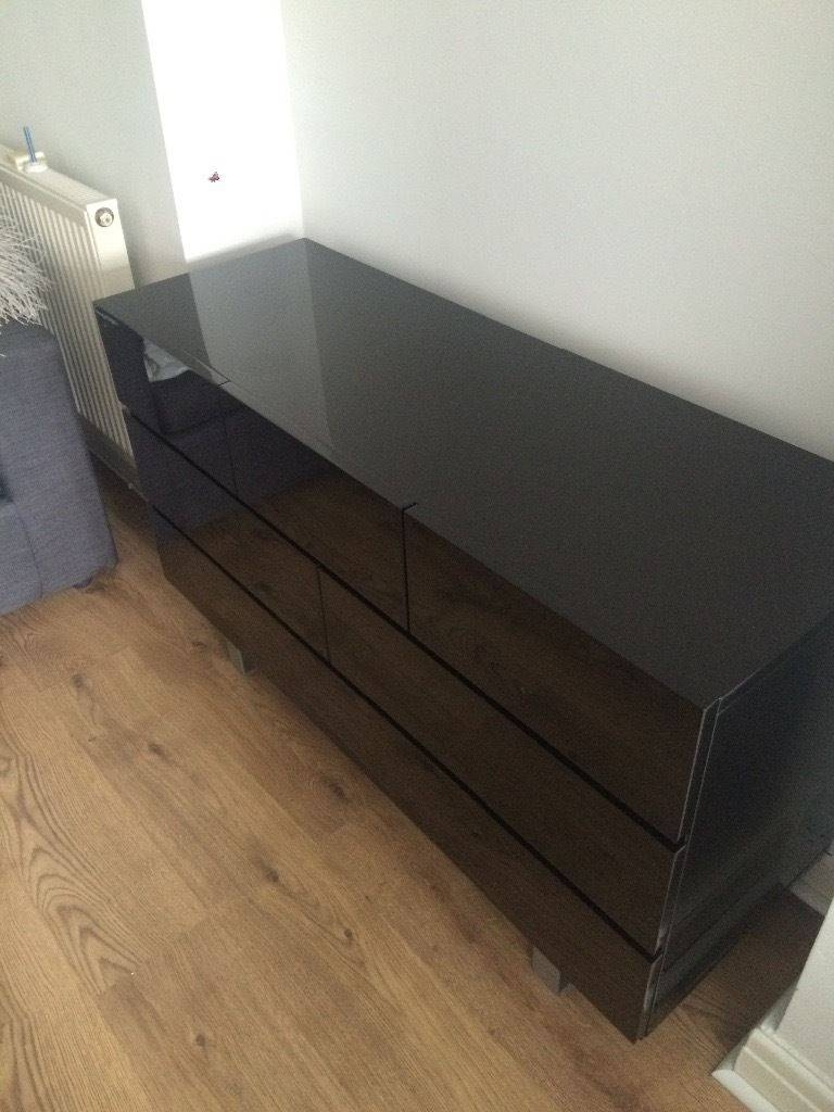 20 Photo of Black High Gloss Sideboard