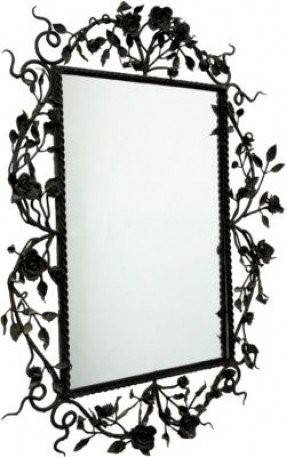 Black Iron Wall Decor – Foter In Black Wrought Iron Mirrors (#9 of 20)