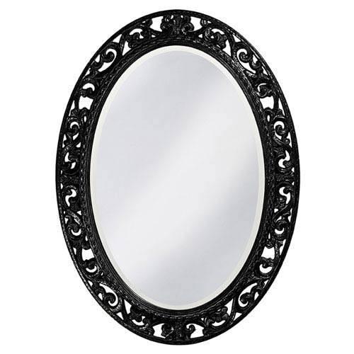 Popular Photo of Black Oval Mirrors