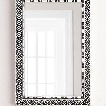 Black Mother Of Pearl Mirror – Mirrors & Wall Dã?â©Cor With Mother Of Pearl Wall Mirrors (#13 of 30)