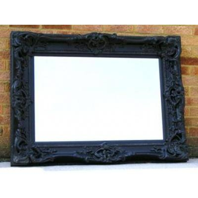 Black Ornate Mirrors, Classic Mirrors & Stylish Mirrors – Ayers Regarding Large Black Vintage Mirrors (#21 of 30)
