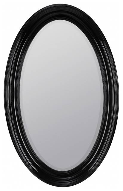 Black Oval Mirrors For Bathroom (#17 of 30)