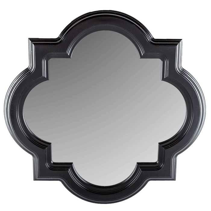 Black Quatrefoil Styrene Mirror | Hobby Lobby | 640763 In Black Mirrors (#16 of 30)