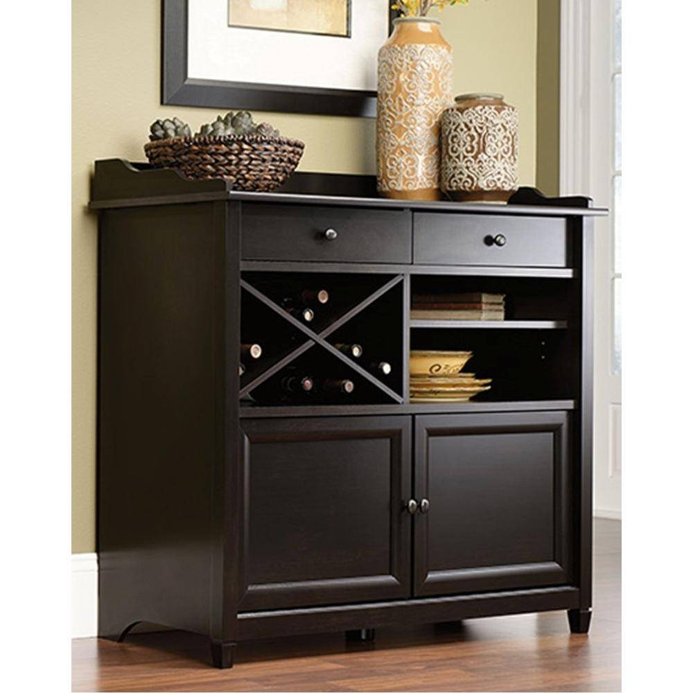 Black – Sideboard – Sideboards & Buffets – Kitchen & Dining Room Inside Black Sideboards (#1 of 20)