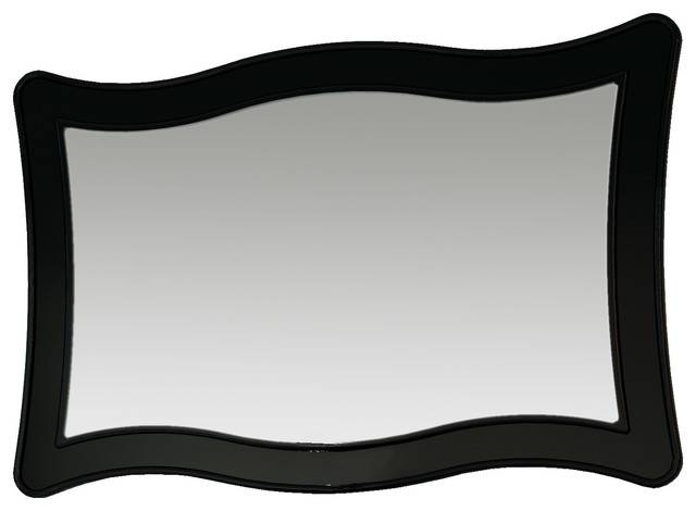 Black Wall Mirror – Interior4You For Long Black Wall Mirrors (#17 of 30)