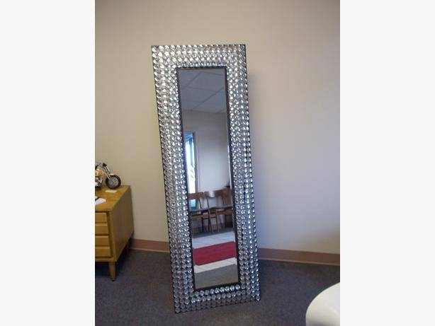 Bling Full Length Dressing Mirror Esquimalt & View Royal, Victoria For Bling Floor Mirrors (#11 of 30)