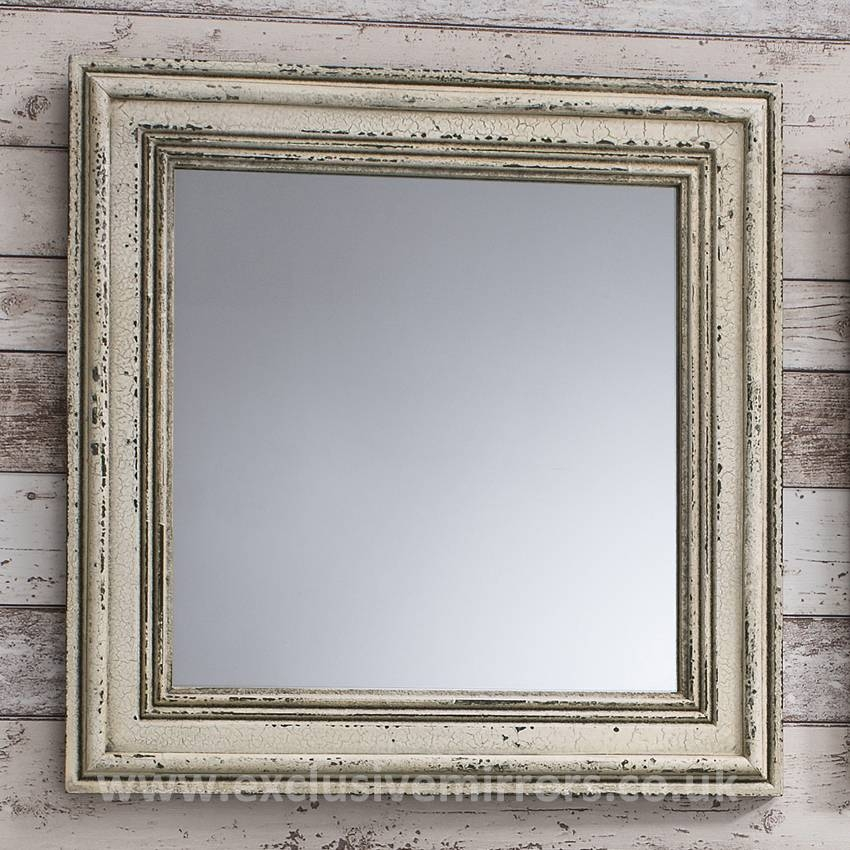 Blog | Exclusive Mirrors In Shabby Chic White Distressed Mirrors (#24 of 30)