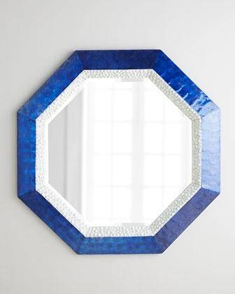 Popular Photo of Mirrors With Blue Frame
