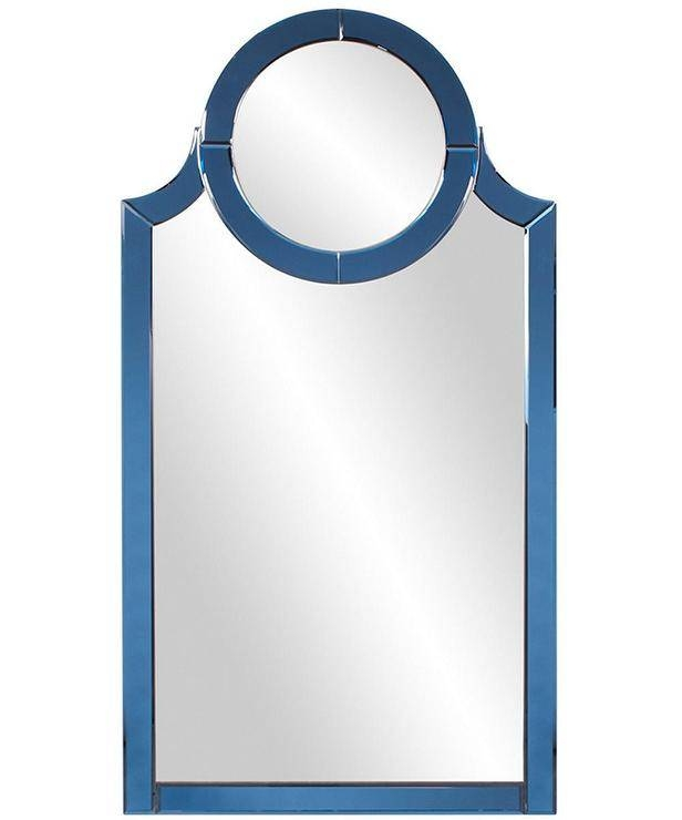 Blue Frame Vine Mirror – Products, Bookmarks, Design, Inspiration Within Mirrors With Blue Frame (View 5 of 20)