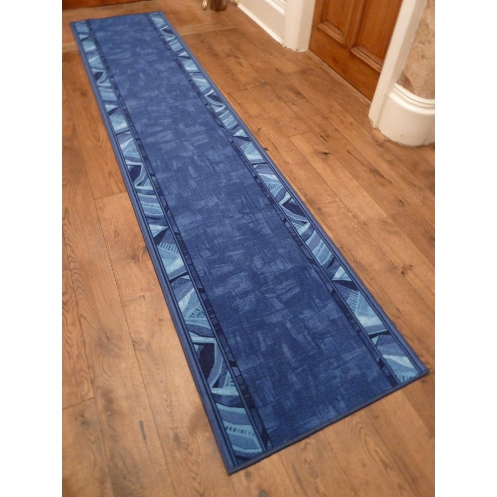 20 Inspirations Of Runner Hallway Rugs: 20 Inspirations Of Blue Rug Runners For Hallways