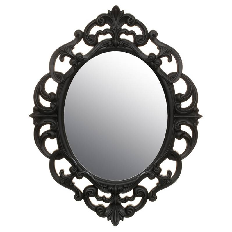 B&m Small Ornate Oval Mirror – 295297 | B&m With Black Ornate Mirrors (#4 of 30)