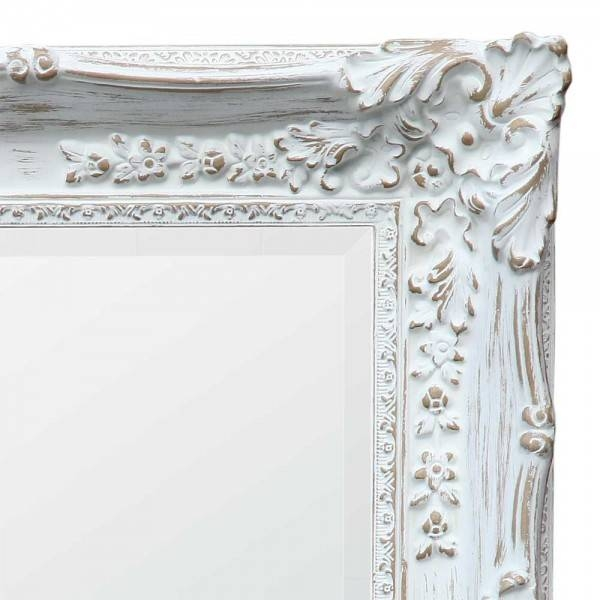 Boudoir Provence Antique White Mirror – Chic Seasons For White Antique Mirrors (#9 of 20)